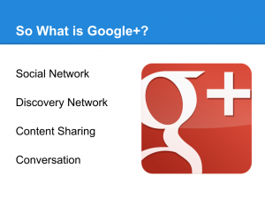 Google Plus for your Business