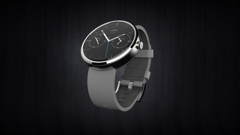 Moto 360 Wearable Smartwatch by Motorola Mobility - a Google company